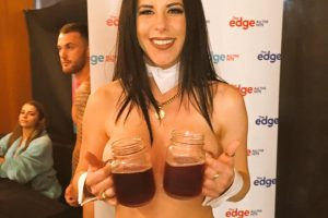 Naked Waitress Tyler Diamond