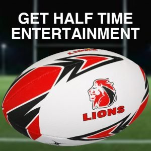Lions Half Time Entertainment