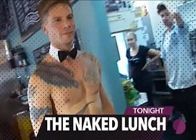 The Naked Lunch - Topless Waiter