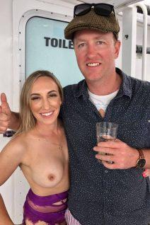 Hamilton Party Boat Topless Waitress