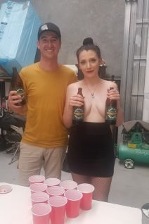 Topless Stag Hostess - Ruby