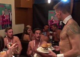 Topless Apron Waiter Prices - 1hr - 1 Apron G-String Waiter