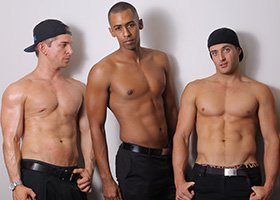 Topless Apron Waiter Prices - 5hrs - 3 Apron G-String Waiters