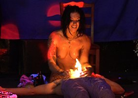 Female Stripper Prices - Candle Fire Show