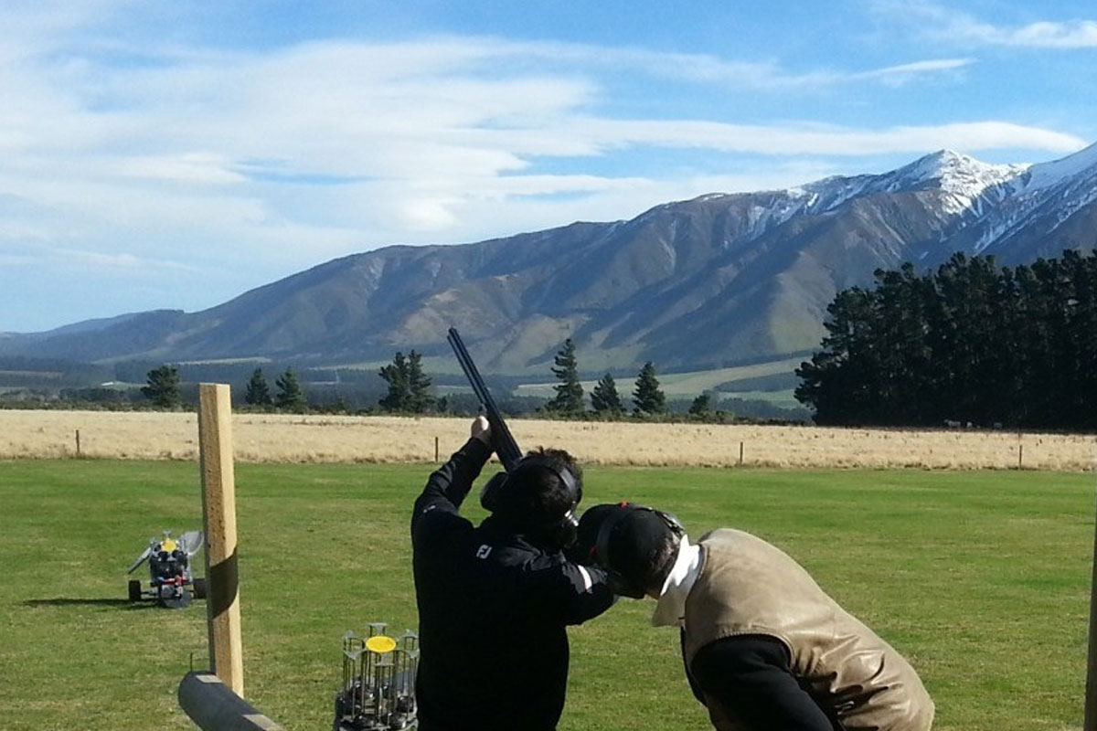 Christchurch Clay Bird Stag Combo