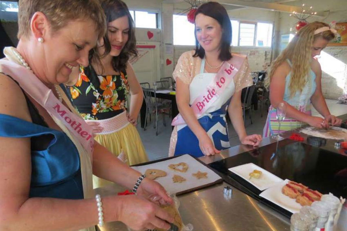 Auckland Hens Do Cooking Challenge