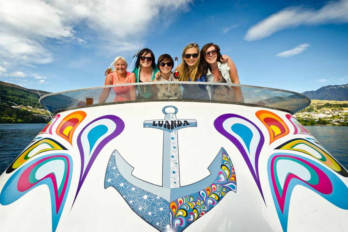 Queenstown Hen Boat Cruise