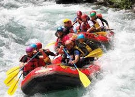 Taupo Rafting Hen Adventure