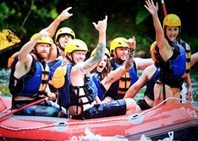 Stag Do Action Prices - Rotorua Rafting Combo