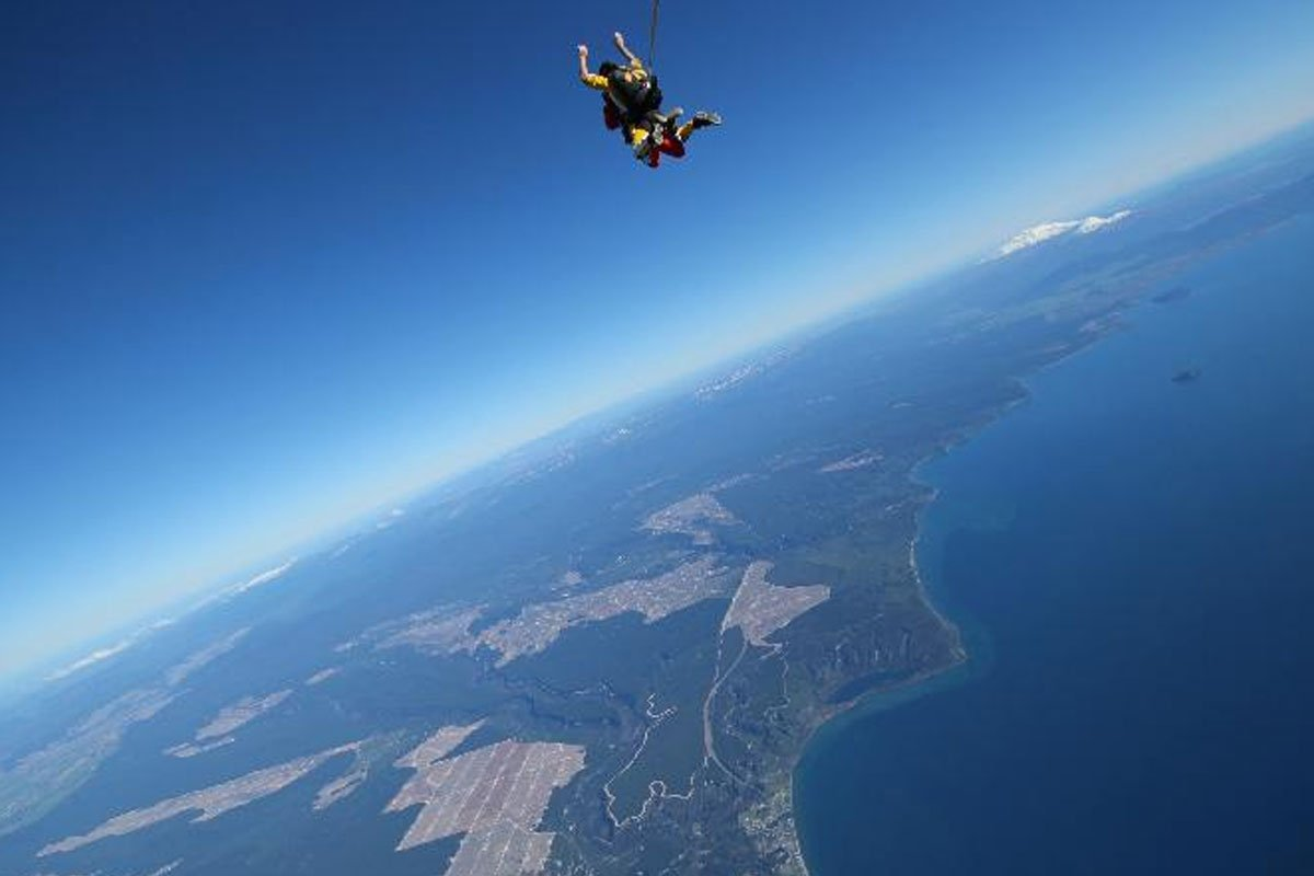 Taupo Bungy & Skydiving Combo