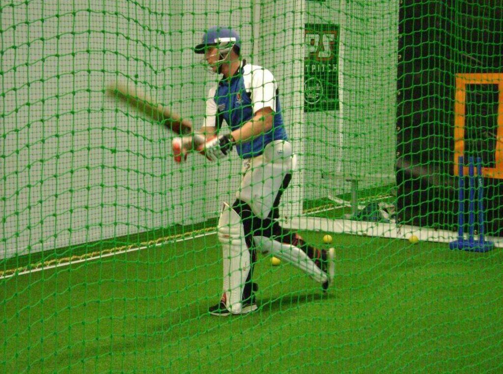 Stag Cricket Indoor Batting