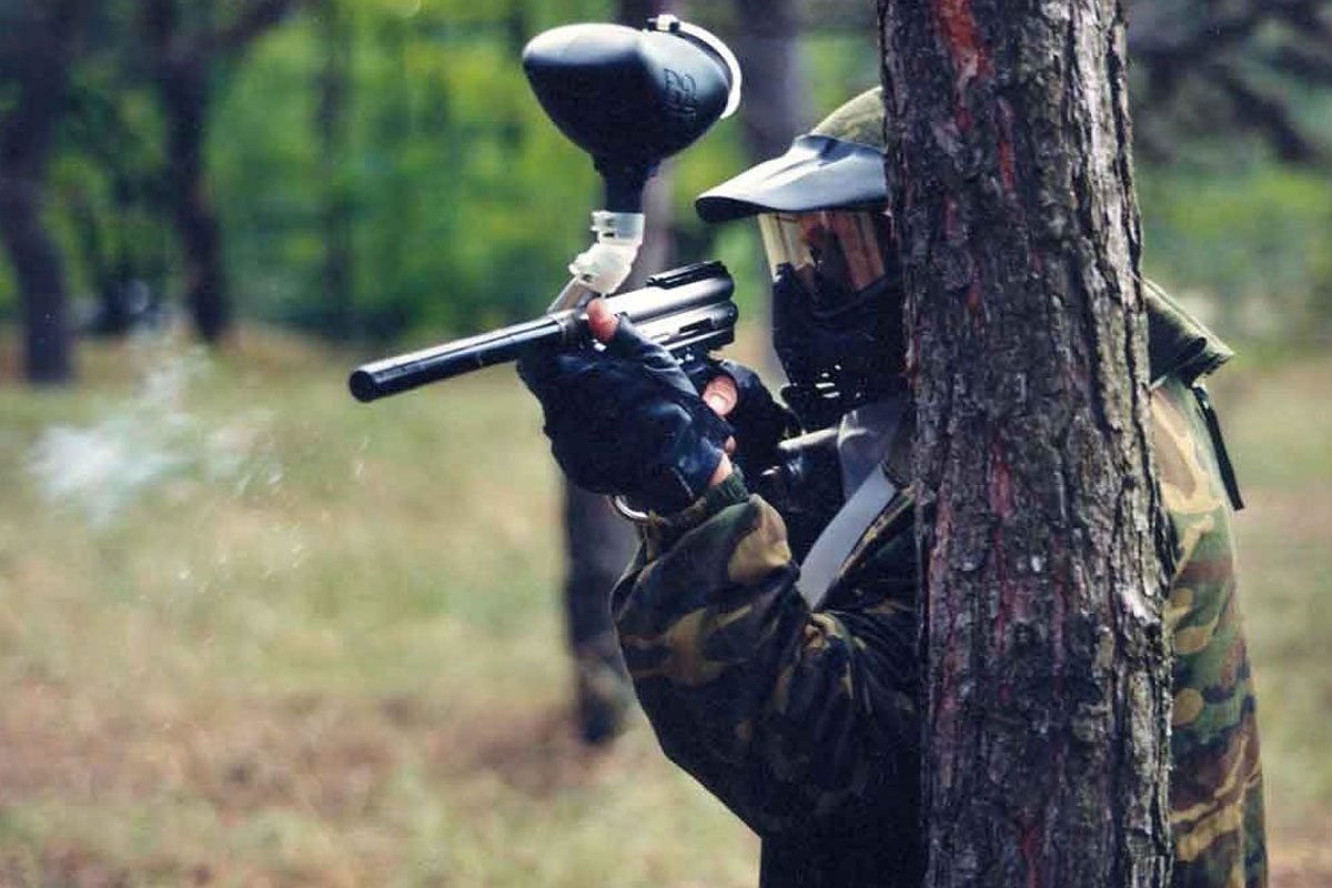 Taupo Paintball Stag Do