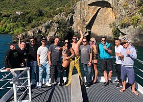 Taupo Stag Do Prices - Taupo BYO Boat Cruise