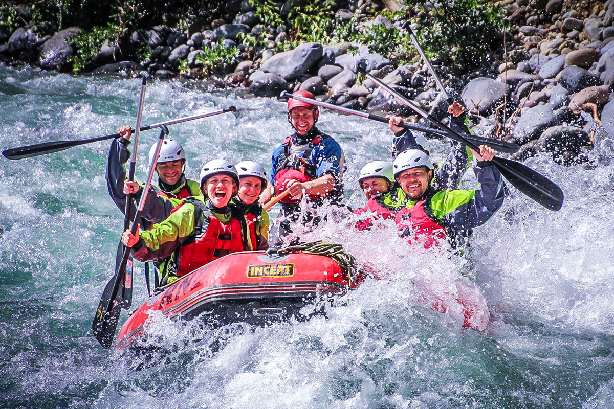 Rafting Hen Adventure Taupo