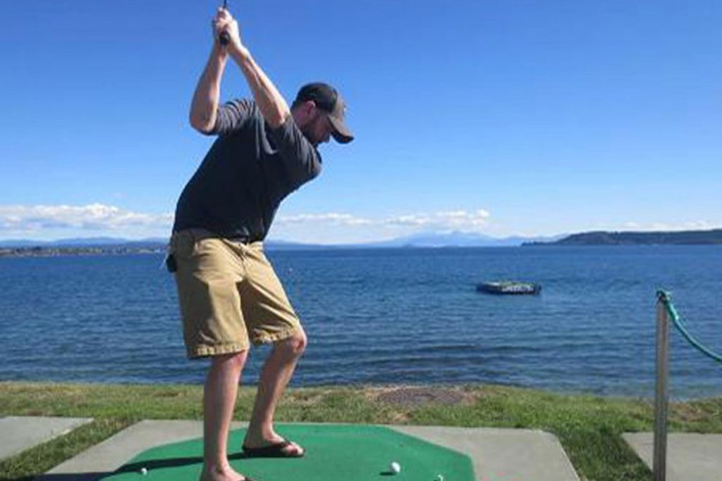 Hole in 1 Stag Challenge Taupo