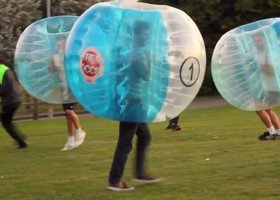 Stag Do Action Prices - Tauranga Bumper Ball