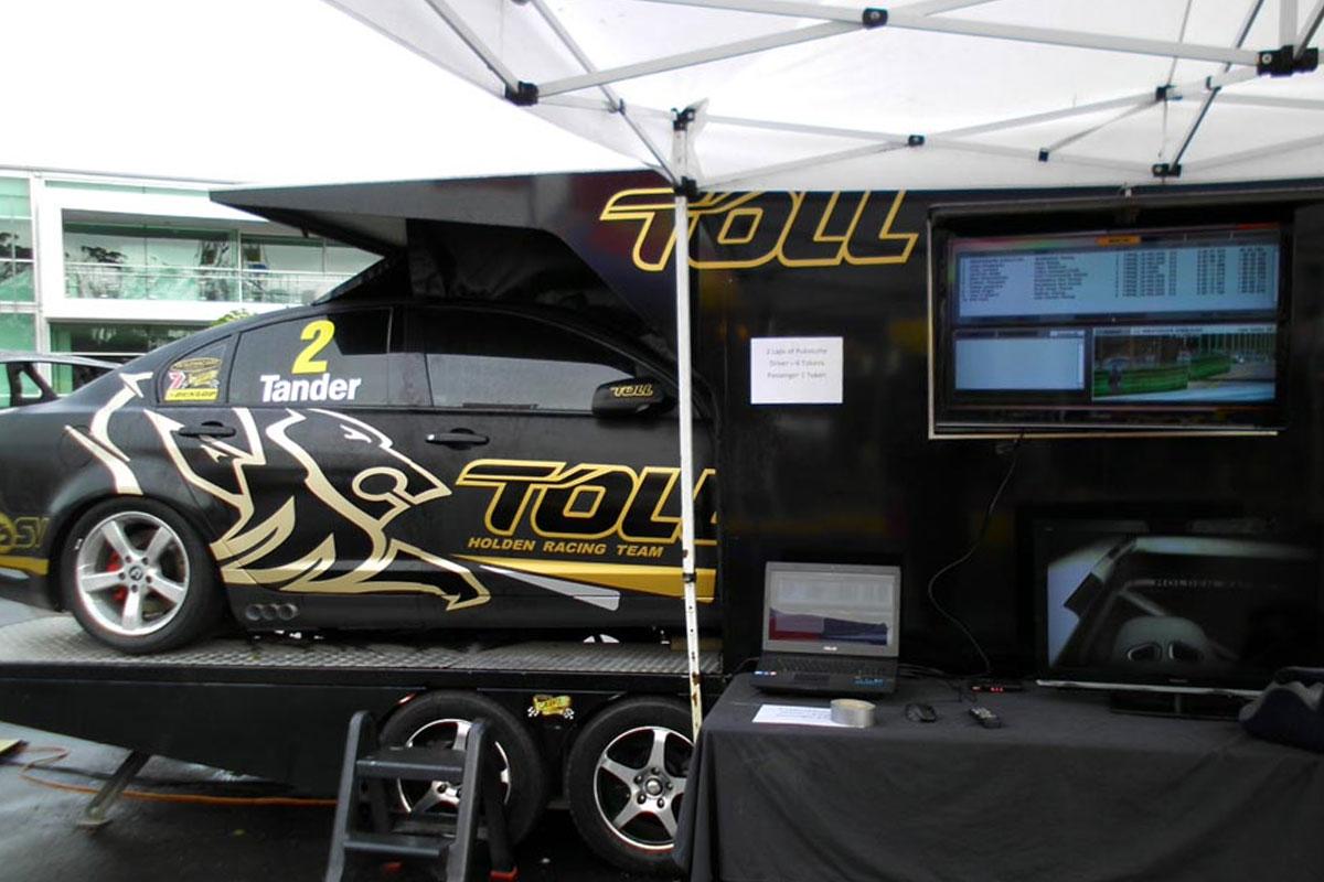 V8 Simulator & Super Car