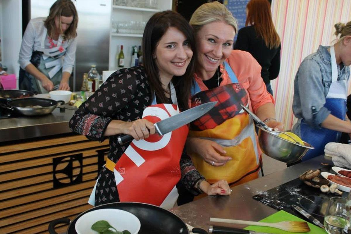 Wellington Hens Do Cooking Challenge