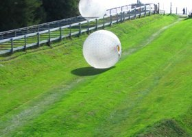 Stag Do Action Prices - Rotorua Zorb Stag Combo