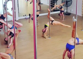 Tauranga Pole Dance/Burlesque Hens Do Lesson