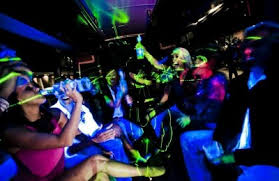 Party Bus Prices - Hamilton Deluxe Hen Party Bus