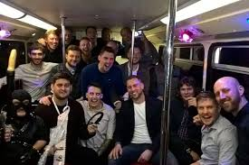 Deluxe Wellington Stag Do Party Bus