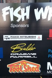 Fish Wars Sign 2019