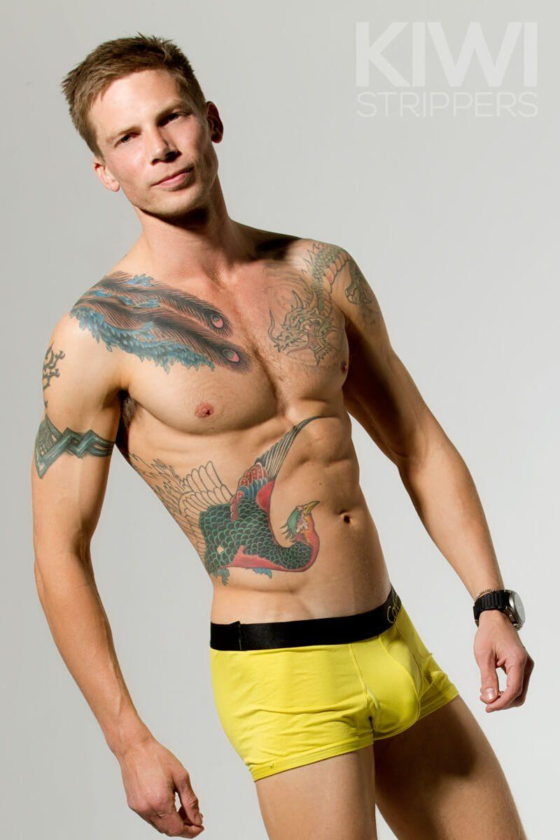 Male Stripper - James